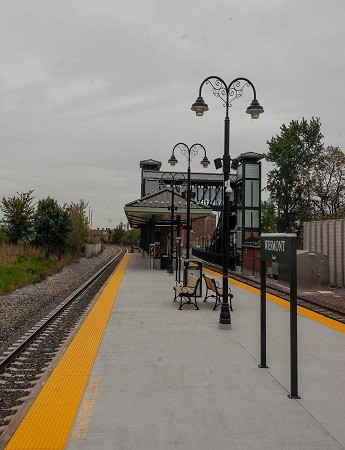 Westmont Train Station